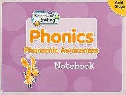 Phonics Notebook, Gold Stage: Phonemic Awareness