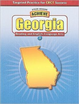 Achieve Georgia English/Language Arts Grade 3: Targeted Practice for CRCT Success (Student Edition)