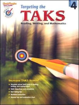 Steck-Vaughn Pass the PCTB: Student Edition Grade 4 Tarketing the TAKS