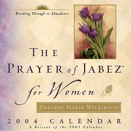 2004 The Prayer of Jabez for Women Box Calendar