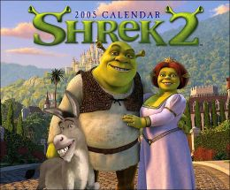 2005 Shrek 2 Wall Calendar