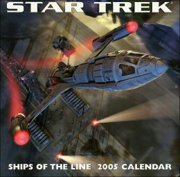 2005 Star Trek Ships Wall Calendar