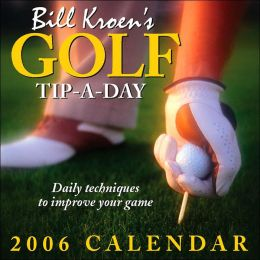 2006 Golf Tip A Day Box Calendar