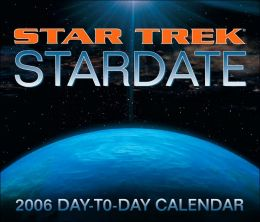 2006 Star Trek Stardate Box Calendar