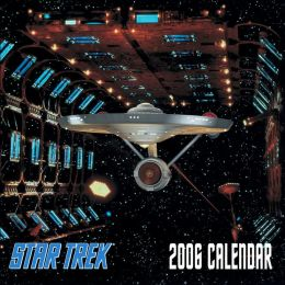 2006 Star Trek the Original Series Wall Calendar