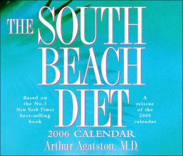 2006 South Beach Diet Box Calendar