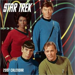 2007 Star Trek The Original Series Wall Calendar