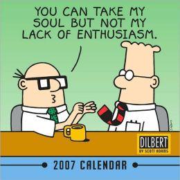2007 Dilbert Mini Wall Calendar