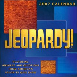 2007 Jeopardy Box Calendar