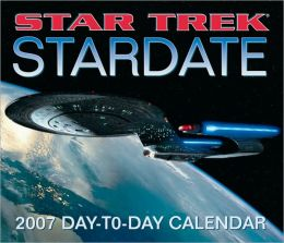 2007 Star Trek Stardate Box Calendar