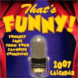 2007 That's Funny Box Calendar