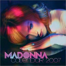 2007 Madonna Wall Calendar