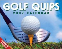 2007 Golf Quips Mini Box Calendar