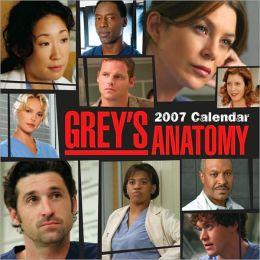 2007 Grey's Anatomy Wall Calendar