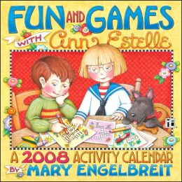 2008 Mary Engelbreit Fun & Games With Ann Estelle Wall Calendar