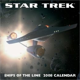 2008 Star Trek Ships Wall Calendar