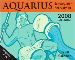 2008 Horoscope: Aquarius Mini Box Calendar