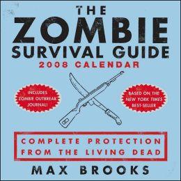 2008 Zombie Survival Guide Box Calendar