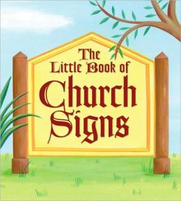 Little Book of Church Signs