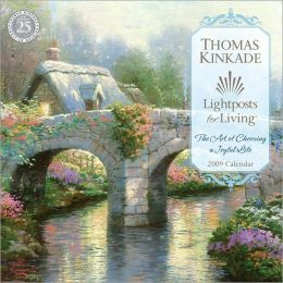 2009 Kinkade - Lightpost for the Living Wall Calendar