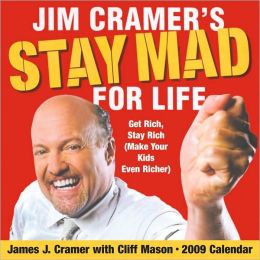 2009 Jim Cramer's Stay Mad for Life Box Calendar