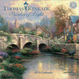 Thomas Kinkade Painter of Light - 2009 Mini Wall Calendar