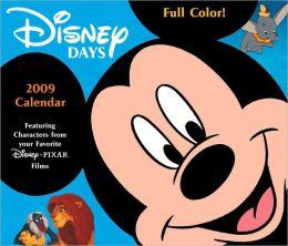 2009 Disney Days Box Calendar