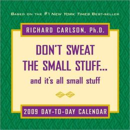 2009 Don't Sweat the Small Stuff Box Calendar