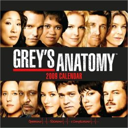 2009 Grey's Anatomy Wall Calendar