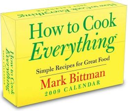 2009 How to Cook Everything Box Calendar