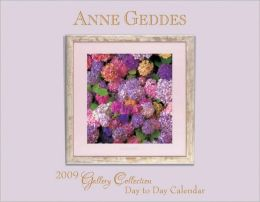 2009 Anne Geddes Gallery Collection Box Calendar