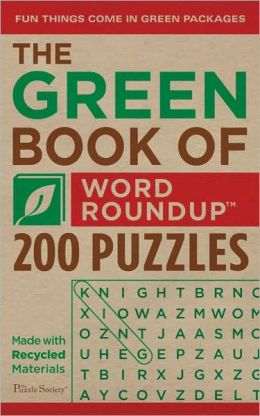 The Green Book of Word Roundup: 200 Puzzles