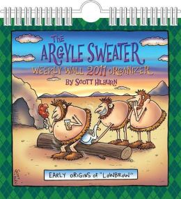 2011 Argyle Sweater Wall Calendar
