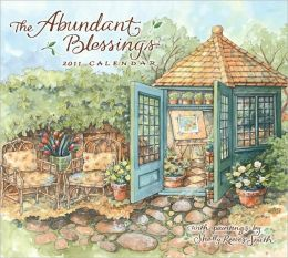 2011 Abundant Blessings Wall Calendar
