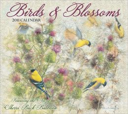 2011 Birds & Blossoms Wall Calendar