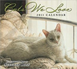 2011 Cats We Love Wall Calendar