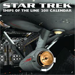 2011 Star Trek: Ships of the Line Wall Calendar