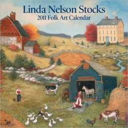 2011 Linda Nelson Stocks mini Wall Calendar