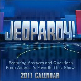 2011 Jeopardy! Box Calendar