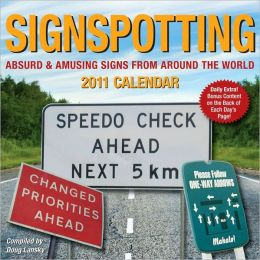 2011 Signspotting Box Calendar