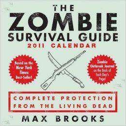 2011 The Zombie Survival Guide Box Calendar