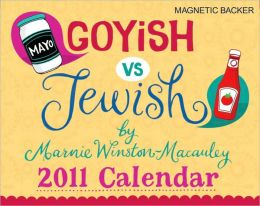 2011 Goyish vs. Jewish mini Box Calendar