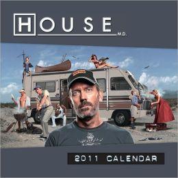 2011 House Wall Calendar