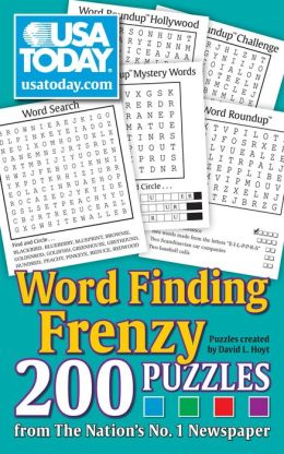 Word Finding Frenzy: 200 Puzzles