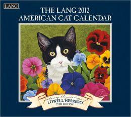 2012 American Cat Wall Calendar