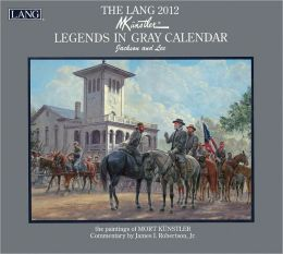 2012 Legends In Gray Wall Calendar