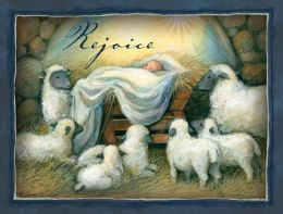 REJOICE DELUXE CHRISTMAS BOXED CARD