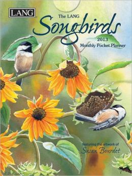 2013 SONGBIRDS MONTHLY POCKET PLANNER