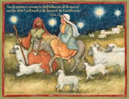 HOLY LIGHT CHRISTMAS BOXED CARD