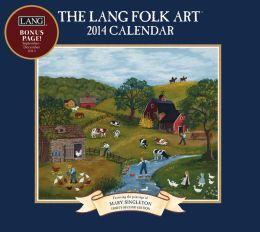 2014 Lang Folk Art Wall Calendar